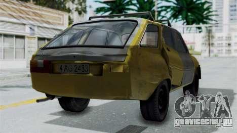Dacia 1325 Liberta Rusty для GTA San Andreas вид слева