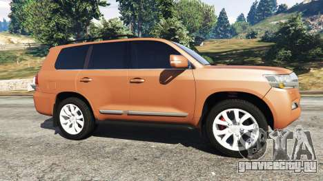 Toyota Land Cruiser 200 2016 для GTA 5