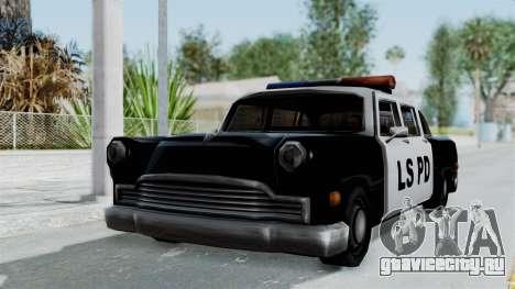 Police Cabbie для GTA San Andreas