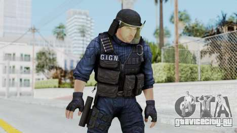 GIGN 1 No Mask from CSO2 для GTA San Andreas