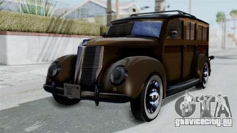 Lincoln Continental 1942 Mafia 2 v1 для GTA San Andreas
