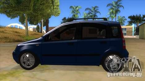 Fiat Panda V3 для GTA San Andreas вид слева