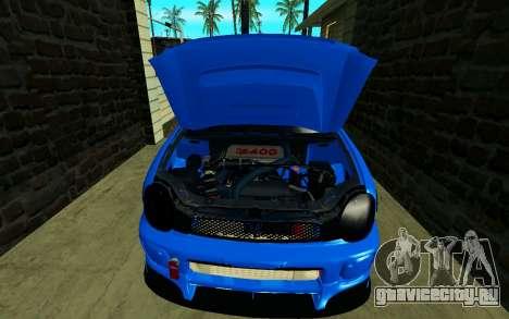 Subaru Impreza WRX STi Wagon 2003 для GTA San Andreas вид сзади