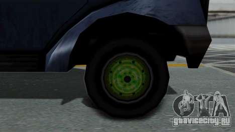 Yankee with StickerBombing для GTA San Andreas вид сзади слева