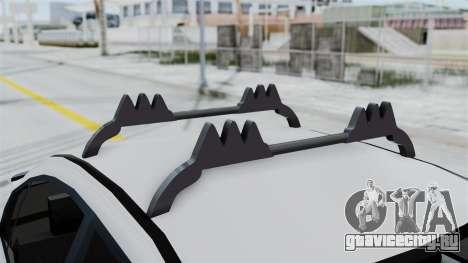 Hyundai Accent Essential Garage для GTA San Andreas вид сзади