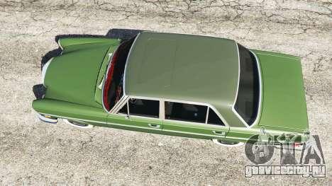Mercedes-Benz 300SEL 6.3 1972 для GTA 5 вид сзади
