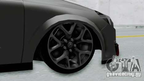 Opel Astra для GTA San Andreas вид сзади слева