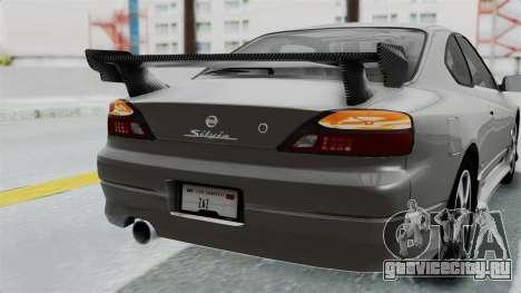 Nissan Silvia S15 Spec-R 2000 для GTA San Andreas вид сверху