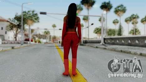 WWE Naomy для GTA San Andreas третий скриншот