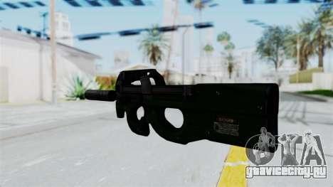 P90 Green для GTA San Andreas второй скриншот