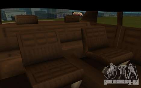 Tornado Limousine для GTA San Andreas вид справа