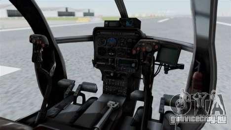 Makarovs Private MD-500 для GTA San Andreas вид справа