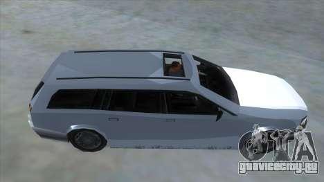 GTA LCS Sindacco Argento для GTA San Andreas вид изнутри