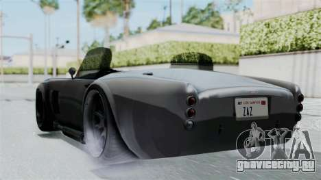GTA 5 Mamba для GTA San Andreas вид слева
