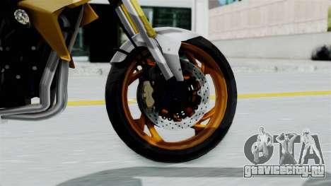 Honda CB1000R v2 для GTA San Andreas вид сзади слева