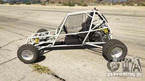 Kart Cross для GTA 5 вид слева