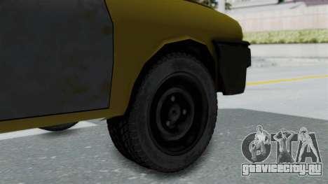 Dacia 1325 Liberta Rusty для GTA San Andreas вид сзади слева