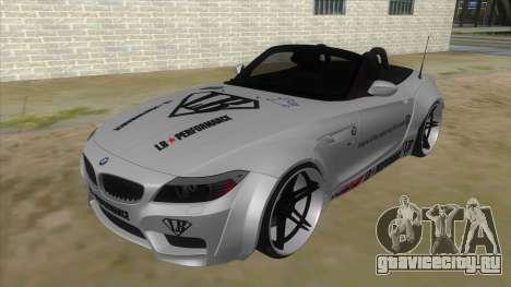 BMW Z4 Liberty Walk Performance Livery для GTA San Andreas