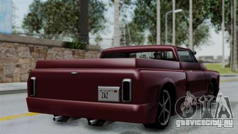 Slamvan Milt-Lorry для GTA San Andreas вид слева