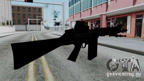 FN-FAL from CS GO with EoTech для GTA San Andreas второй скриншот