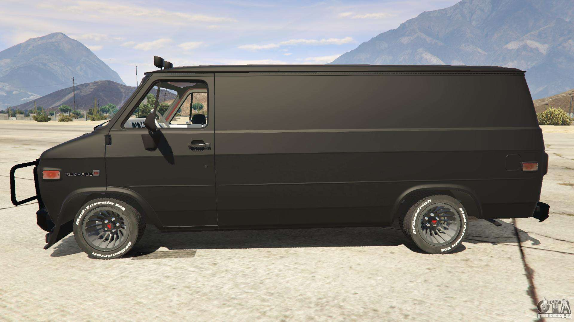 gmc vandura a team van gta 5. Black Bedroom Furniture Sets. Home Design Ideas