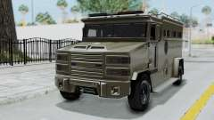 GTA 5 Brute Riot Police IVF для GTA San Andreas
