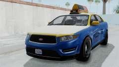 GTA 5 Vapid Stanier Ⅲ (Interceptor) Taxi