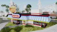 Burger King Texture