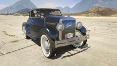Ford T 1927 Roadster для GTA 5