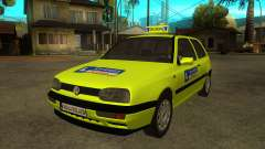 VW Golf Mk3 Top Speed Auto Skola для GTA San Andreas