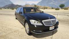 2011 Mercedes-Benz S600 Guard Pullman