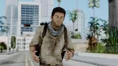 Uncharted 3 - Nathan Drake Desert Outfit для GTA San Andreas