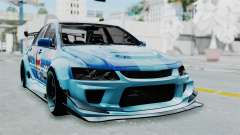 Mitsubishi Lancer Evolution IX MR Edition v2 для GTA San Andreas