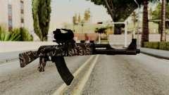 AK-47 F.C. Camo для GTA San Andreas
