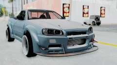 Nissan Skyline R34 PickUp для GTA San Andreas