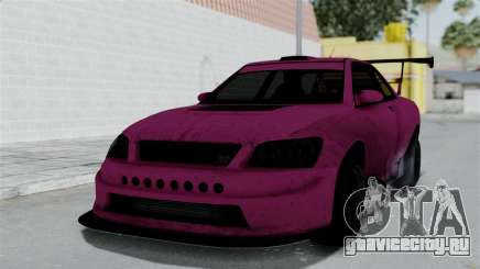 GTA 5 Karin Sultan RS Drift Double Spoiler для GTA San Andreas