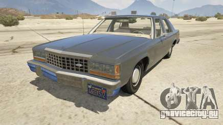 1987 Ford LTD Crown Victoria для GTA 5