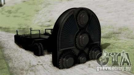 GTA 5 HVY Cutter для GTA San Andreas