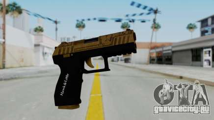 GTA 5 Online Lowriders DLC Combat Pistol для GTA San Andreas