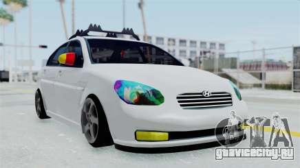 Hyundai Accent Essential Garage для GTA San Andreas