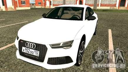 Audi RS7 Quattro для GTA San Andreas