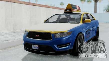 GTA 5 Vapid Stanier Ⅲ (Interceptor) Taxi для GTA San Andreas