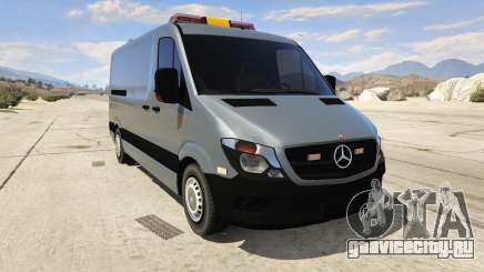Mercedes-Benz Sprinter Worker Van для GTA 5