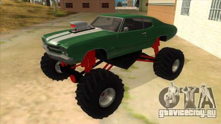 1970 Chevrolet Chevelle SS Monster Truck для GTA San Andreas