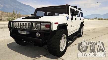 Hummer H2 для GTA 5