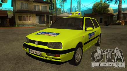 VW Golf Mk3 Top Speed Auto Skola для GTA San Andreas