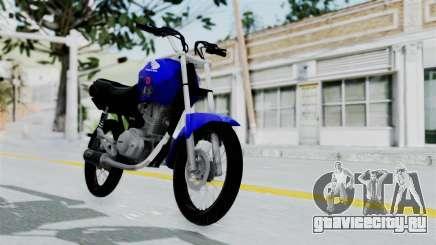 Honda CG Titan 2014 Stunt для GTA San Andreas