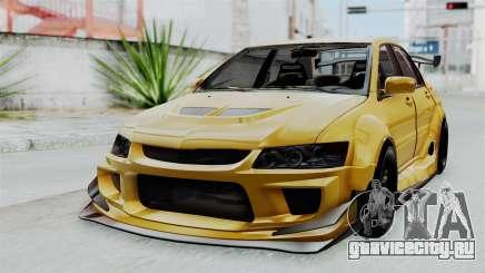 Mitsubishi Lancer Evolution IX MR Edition для GTA San Andreas