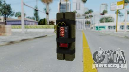 GTA 5 Stickybomb для GTA San Andreas