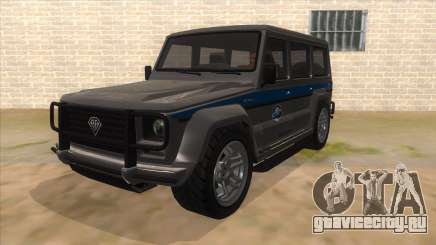 Benefactor Dubsta Jurassic World Security для GTA San Andreas